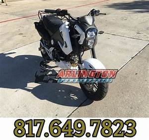 125cc Boom Motorcycle Moped Scooter W   Manual Transmission