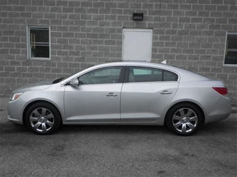 Buick Lacrosse 2011 Cxs by Purchase Used 2011 Buick Lacrosse Cxs In 7800 N Lindbergh
