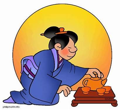 Clipart Japan Japanese Clip Tea Ceremony Cliparts