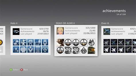 g xbox 360 achievements my xbox 360 achievements and