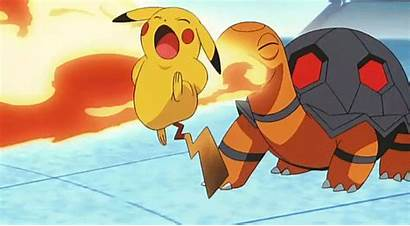 Pikachu Pokemon Fire Burn Random Things Gifs