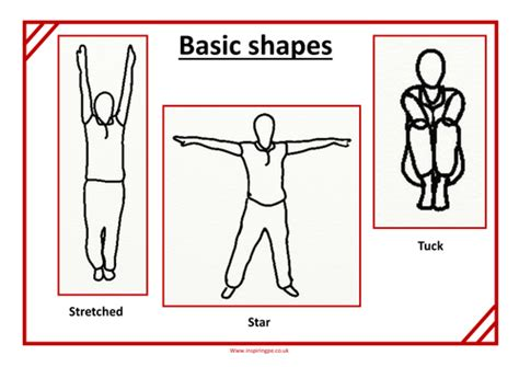gymnastics teaching cards by physical ed teaching