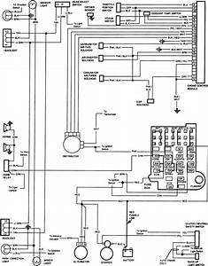 Wiring Diagram For 1985 Chevy Truck