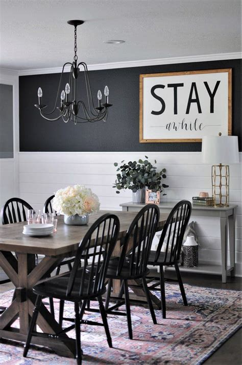 rustic dining rooms     farmhouse shine