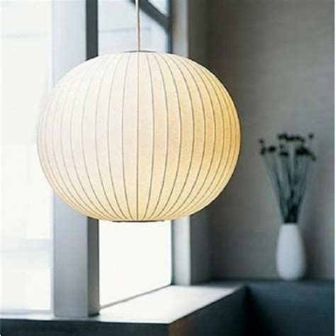 george nelson ball bubble pendant lamp