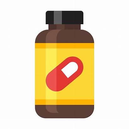 Bottle Medicine Pill Transparent Supplement Clipart Webstockreview