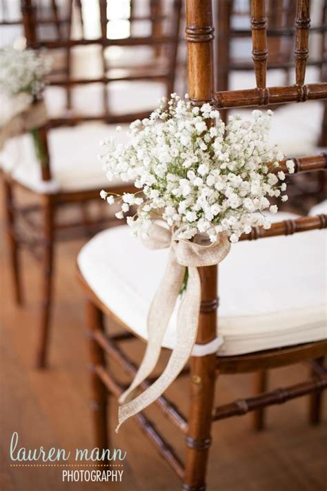 decoration florale avec ruban satin pin by sue on weddings baby s breath