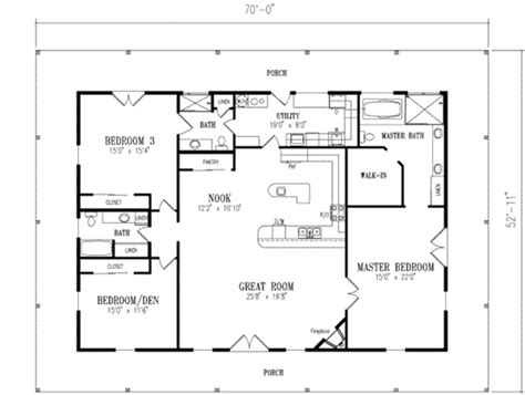 Country Style House Plan  3 Beds 300 Baths 2312 Sqft