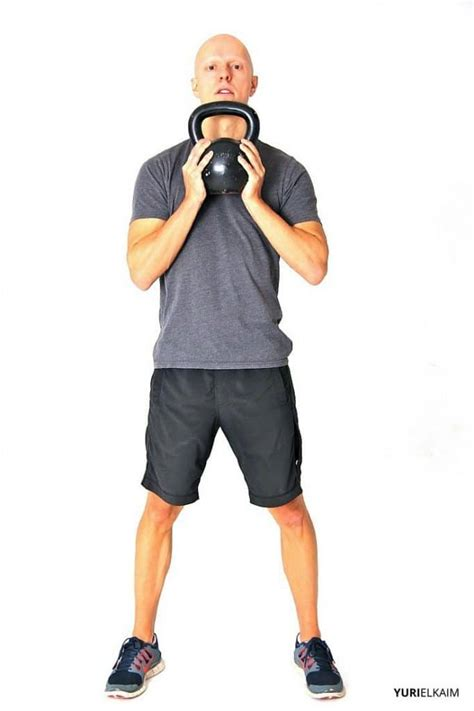 squat kettlebell goblet position body form workout correct variations swing starting kb yurielkaim beginners standing routine