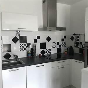 Stickers Carreaux De Ciment Cuisine : carreau de ciment cuisine cuisine avec carreaux de ciment ~ Melissatoandfro.com Idées de Décoration