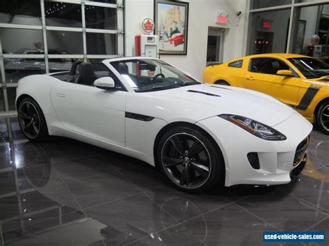 2014 Jaguar F-type For Sale In The United States