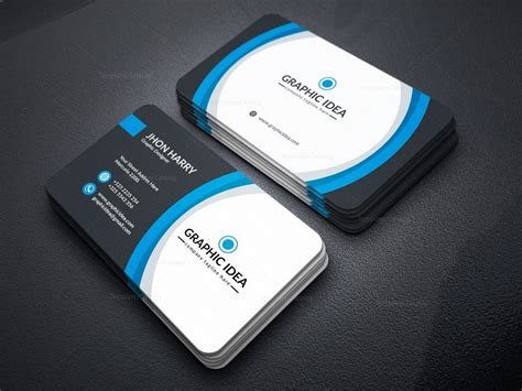 It can be used at atms, merchant outlets and online stores in india. EPS Premium Business Card Design Template 001597 ...