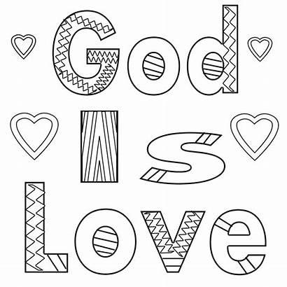 Coloring Pages God Gods Bible Jesus Printable
