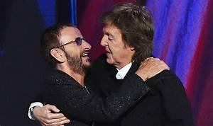Beatles film premiere: Ringo Starr and Paul McCartney come ...