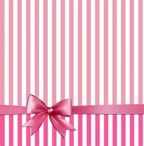 pink white stripes bow background  stock photo