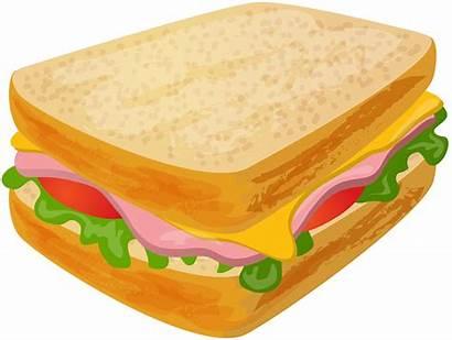 Sandwich Clipart Transparent Clip Sandwiches Cheese Background