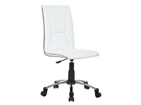 bureau pour ordinateur conforama fauteuil de bureau coloris blanc vente de