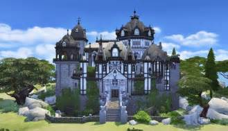 custom kitchen furniture vire castle by bangsain at my sims house sims 4 updates