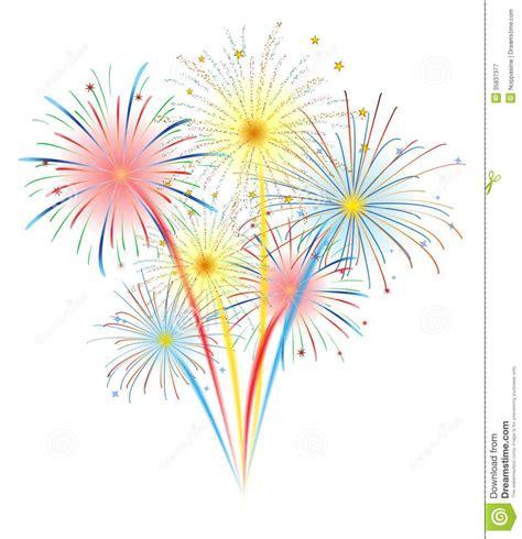 clipart fuochi d artificio fuochi d artificio illustrazione vettoriale illustrazione