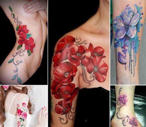 tatuaggi di fiori sul braccio tatuaggi con fiori significato e 200 foto