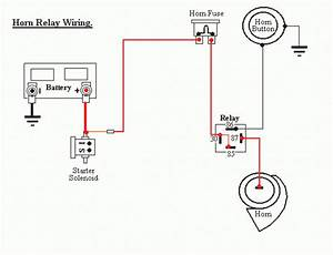 wiring horn relay diagram car wiring diagram download With horn wiring