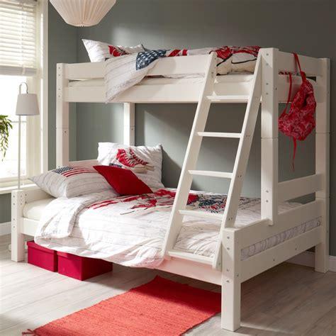 principe de la chambre lit superposé 90 140x200 lilja blanc liljblcm01l