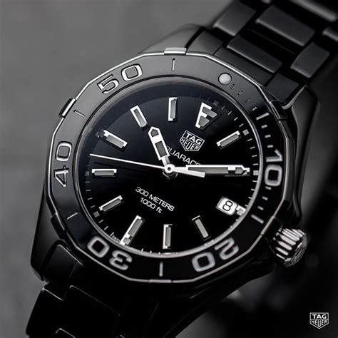 With an elegant, all-black timepiece the possibilities are ...