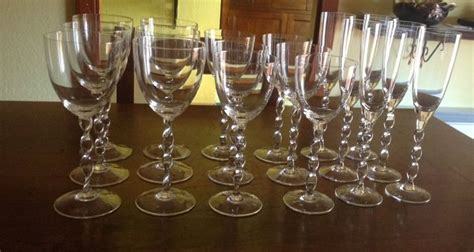 bicchieri richard ginori richard ginori servizio bicchieri da 6 in cristallo