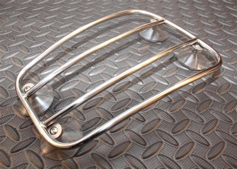 Bonneville Stainless Steel Tank Rack Curved Fits Hinckley