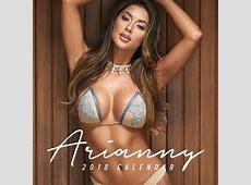 Arianny Celeste 2018 Calendar AriannyCelestecom