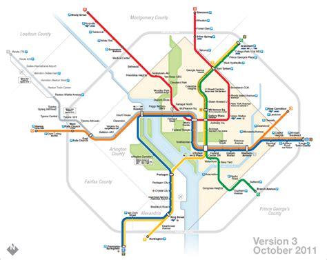 The Evolution Of My Washington, Dc Metro Map Now