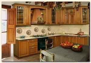 deco cuisine bois exemples d39amenagements With decoration pour cuisine en bois
