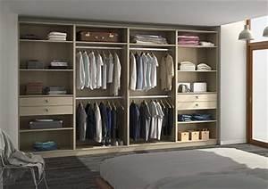 Dressing Sans Porte : armoire dressing sur mesure ~ Edinachiropracticcenter.com Idées de Décoration