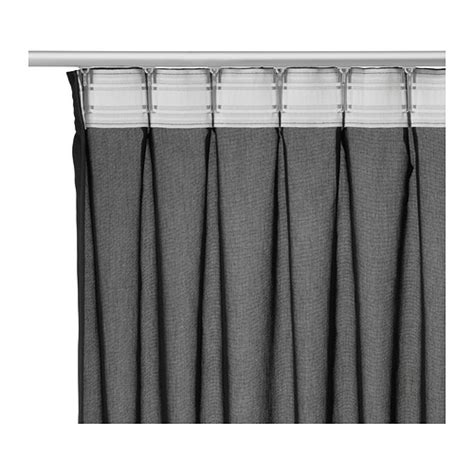 Ikea Vivan Curtains Black by Ikea Vivan Curtains 1 Pair The Curtains Can Be Used On A