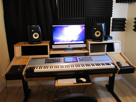 music studio desk workstation desks and studio furniture best bets gearslutz com