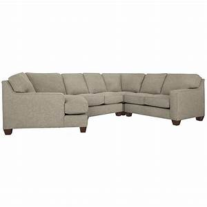City furniture york pewter fabric small left cuddler for Small sectional sofa with cuddler