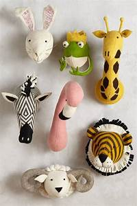 Best images about animal heads on wall
