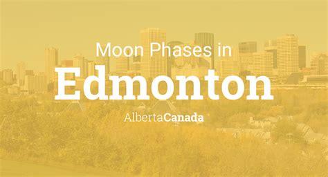 moon phases  lunar calendar  edmonton alberta