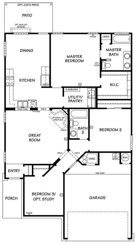 rosewood floor plan killeen tx  homes  sale