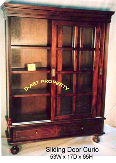 sliding door china cabinet reversing a sliding door of a curio cabinet cabinet doors