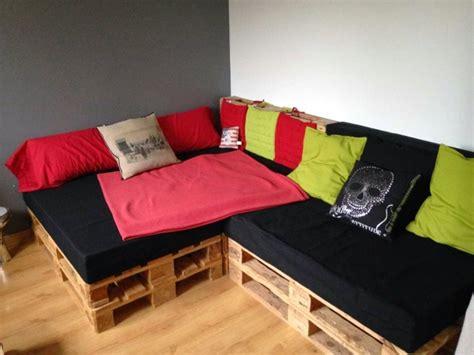 comment fabriquer un canapé en palette comment faire un canapé en palette