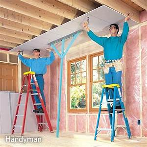 How To Hang Drywall Like A Pro The Family Handyman