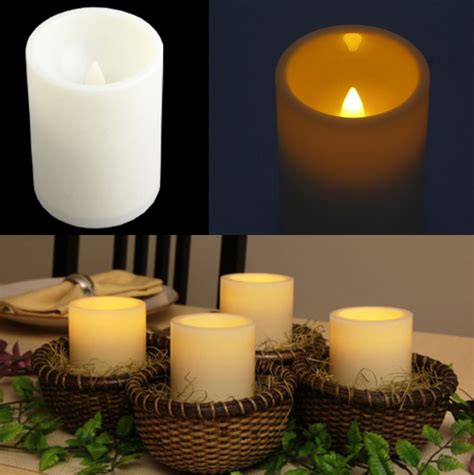 light the bedroom candles led battery operated flameless electric candle tea light 15864   can 00