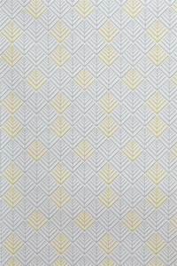 Papier Peint Motif Geometrique : papier peint vinyle encollable motif g om trique jaune et ~ Dailycaller-alerts.com Idées de Décoration
