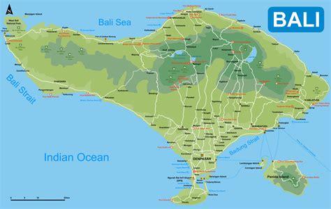 map  bali seacitymapscom