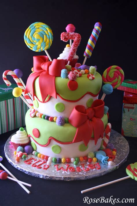 lollipops candy cake
