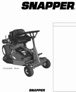 Snapper Garden Tractor Owner S Manual