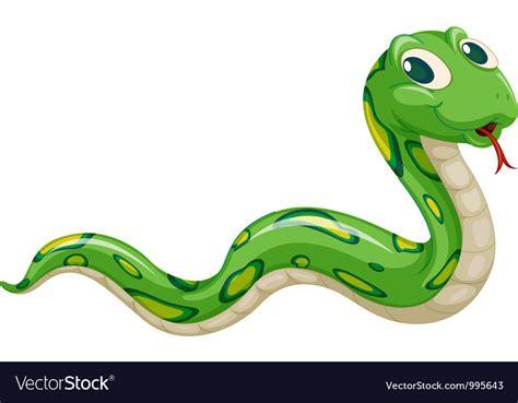 Cartoon Snake Royalty Free Vector Image