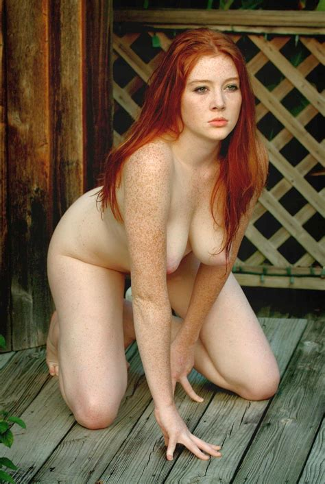 Pic In Gallery Freckled Redhead With Red Bush