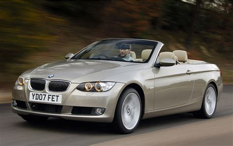 bmw 3 series convertible 2007 2013 running costs parkers